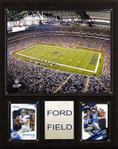 "NFL 12""x15"" Ford Field Stadium Plaque"