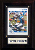 "NFL 4""x6"" Calvin Johnson Detroit Lions Player Plaque"