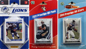NFL Detroit Lions Licensed 2011 Score Team Set With Twelve Card 2011 Prestige All-Star and Quarterback Set
