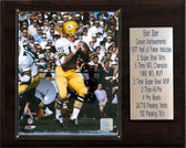 "NFL 12""x15"" Bart Starr Green Bay Packers Player Plaque"