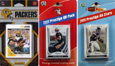 NFL Green Bay Packers Licensed 2011 Score Team Set With Twelve Card 2011 Prestige All-Star and Quarterback Set
