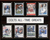 "NFL 12""x15"" Indianapolis Colts All-Time Greats Plaque"
