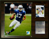 "NFL 12""x15"" Austin Collie Indianapolis Colts Player Plaque"