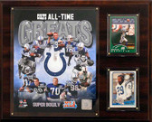 "NFL 12""x15"" Indianapolis Colts All-Time Greats Photo Plaque"