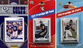 NFL Indianapolis Colts Licensed 2011 Score Team Set With Twelve Card 2011 Prestige All-Star and Quarterback Set