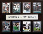 "NFL 12""x15"" Jacksonville Jaguars All-Time Greats Plaque"
