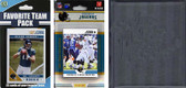 NFL Jacksonville Jaguars Licensed 2012 Score Team Set and Favorite Player Trading Card Pack Plus Storage Album