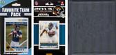 NFL Jacksonville Jaguars Licensed 2013 Score Team Set and Favorite Player Trading Card Pack Plus Storage Album