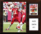 "NFL 12""x15"" Alex Smith Kansas City Chiefs Player Plaque"
