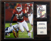 "NFL 12""x15"" Jamaal Charles Kansas City Chiefs Player Plaque"
