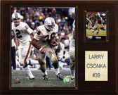 "NFL 12""x15"" Larry Csonka Miami Dolphins Player Plaque"