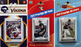 NFL Minnesota Vikings Licensed 2011 Score Team Set With Twelve Card 2011 Prestige All-Star and Quarterback Set