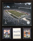 "NFL 12""x15"" Gillette Stadium Stadium Plaque"