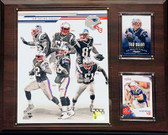 "NFL 12""x15"" New England Patriots 2013 Team Plaque"