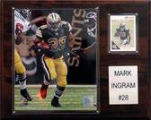 "NFL 12""x15"" Mark Ingram New Orleans Saints Player Plaque"