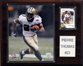 "NFL 12""x15"" Pierre Thomas New Orleans Saints Player Plaque"