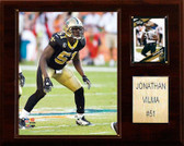 "NFL 12""x15"" Jonathan Vilma New Orleans Saints Player Plaque"
