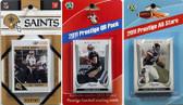 NFL New Orleans Saints Licensed 2011 Score Team Set With Twelve Card 2011 Prestige All-Star and Quarterback Set