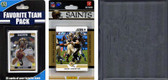 NFL New Orleans Saints Licensed 2012 Score Team Set and Favorite Player Trading Card Pack Plus Storage Album