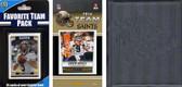 NFL New Orleans Saints Licensed 2014 Score Team Set and Favorite Player Trading Card Pack Plus Storage Album