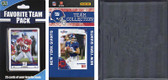 NFL New York Giants Licensed 2010 Score Team Set and Favorite Player Trading Card Pack Plus Storage Album
