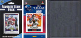 NFL New York Giants Licensed 2014 Score Team Set and Favorite Player Trading Card Pack Plus Storage Album