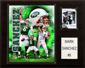 "NFL 12""x15"" Mark Sanchez New York Jets Player Plaque"
