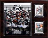 "NFL 12""x15"" New York Jets 2012 Team Plaque"