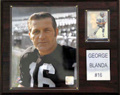 "NFL 12""x15"" George Blanda Oakland Raiders Player Plaque"