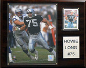 "NFL 12""x15"" Howie Long Oakland Raiders Player Plaque"