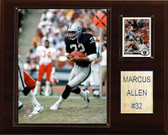"NFL 12""x15"" Marcus Allen Oakland Raiders Player Plaque"