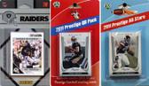 NFL Oakland Raiders Licensed 2011 Score Team Set With Twelve Card 2011 Prestige All-Star and Quarterback Set
