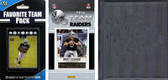 NFL Oakland Raiders Licensed 2014 Score Team Set and Favorite Player Trading Card Pack Plus Storage Album
