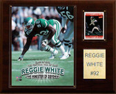 "NFL 12""x15"" Reggie White Philadelphia Eagles Player Plaque"