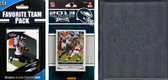 NFL Philadelphia Eagles Licensed 2013 Score Team Set and Favorite Player Trading Card Pack Plus Storage Album