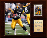 "NFL 12""x15"" Jerome Bettis Pittsburgh Steelers Player Plaque"