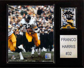 "NFL 12""x15"" Franco Harris Pittsburgh Steelers Player Plaque"