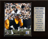 "NFL 12""x15"" Franco Harris Pittsburgh Steelers Career Stat Plaque"
