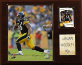 "NFL 12""x15"" LaMarr Woodley Pittsburgh Steelers Player Plaque"