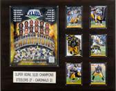 "NFL 16""x20"" Pittsburgh Steelers Super Bowl XLIII Champions Plaque"