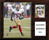 "NFL 12""x15"" NaVorro Bowman San Francisco 49ers Player Plaque"