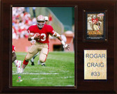 "NFL 12""x15"" Roger Craig San Francisco 49ers Player Plaque"