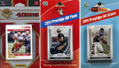 NFL San Francisco 49ers Licensed 2011 Score Team Set With Twelve Card 2011 Prestige All-Star and Quarterback Set