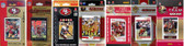 NFL San Francisco 49ers 8 Different Licensed Trading Card Team Sets