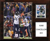 "NFL 12""x15"" Kam Chancellor Seattle Seahawks Player Plaque"