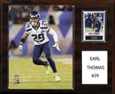 "NFL 12""x15"" Earl Thomas Seattle Seahawks Player Plaque"
