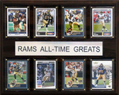 "NFL 12""x15"" St. Louis Rams All-Time Greats Plaque"