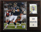 "NFL 12""x15"" Sam Bradford St. Louis Rams Player Plaque"