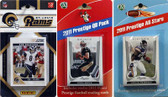 NFL St. Louis Rams Licensed 2011 Score Team Set With Twelve Card 2011 Prestige All-Star and Quarterback Set