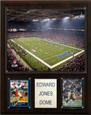 "NFL 12""x15"" Edward Jones Dome Stadium Plaque"